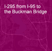 I-295 from I-95 to the Buckman Bridge